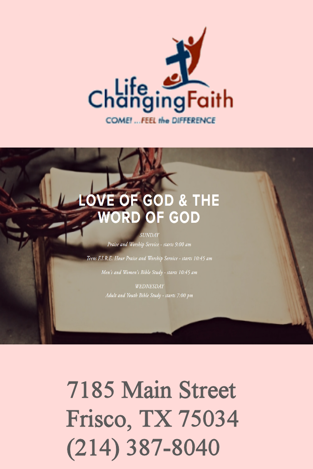 Life Changing Faith Fellowship